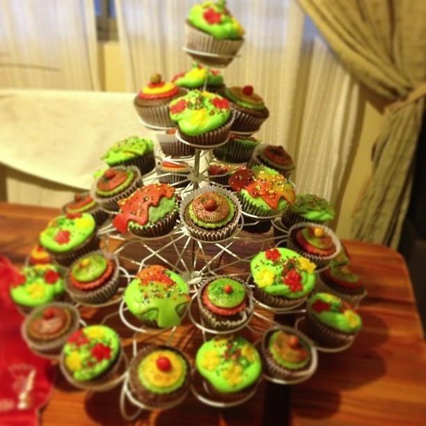 Cupcakes Navideños....
