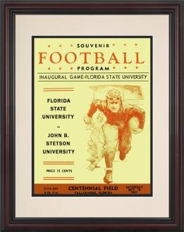 Replica program - 1st FSU football game