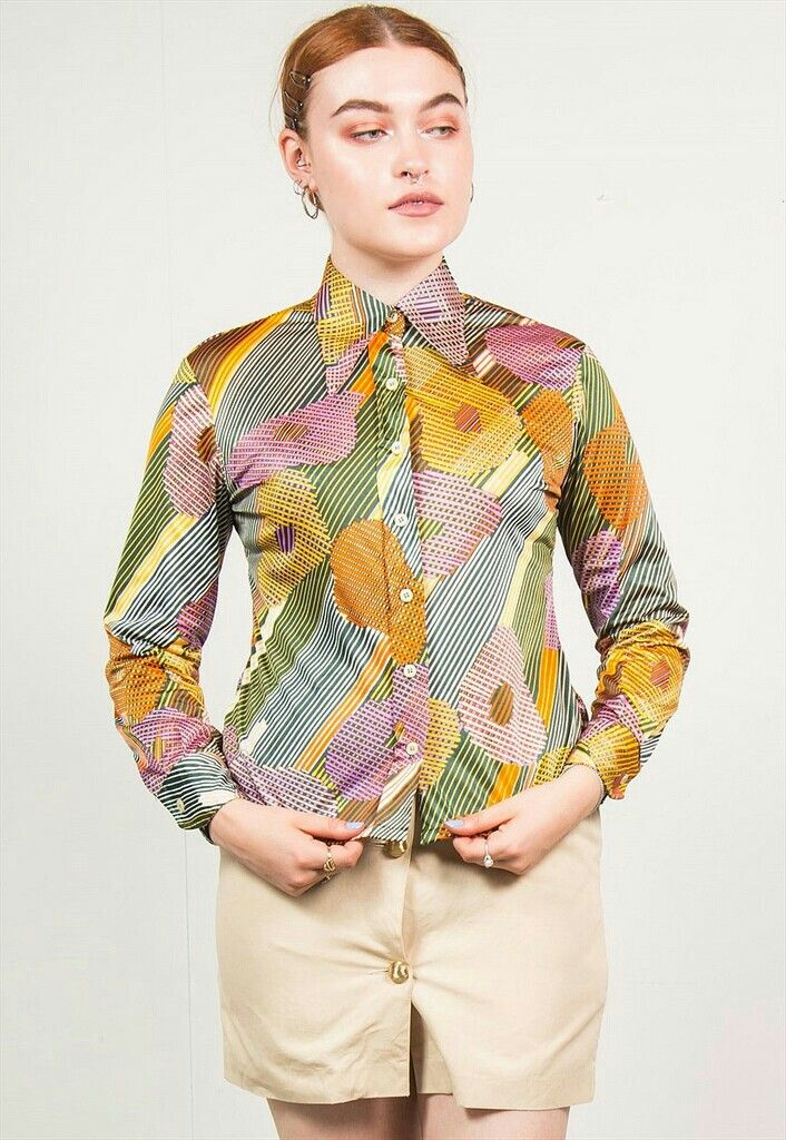 4b64f9f98b7 Pin by Magik Dragon on Buttoned Up Ladies in 2019 | Blouse, Sleeves ...