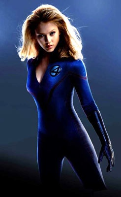 Sue Storm / The Invisible Woman - Jessica Alba - The Fantastic Four 2005
