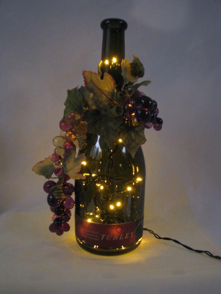 134 Best Wine Bottle Lighting Images On Pinterest Bottle