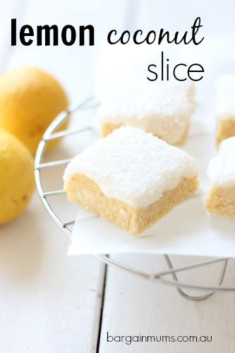 I'm a huge fan of quick, no bake slices, and this Lemon Coconut Slice would have to be my..