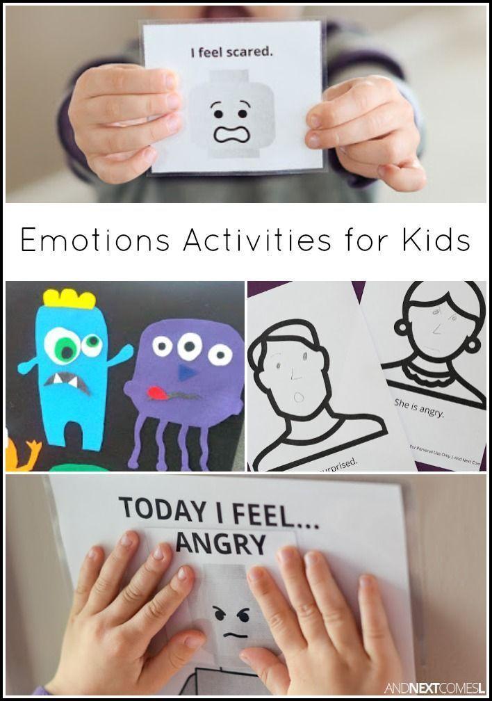 Feelings lesson for preschool
