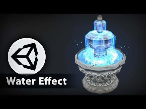 Effect Animation - Water Effect Fountain - 3D Effect Animation Tutorials - YouTube
