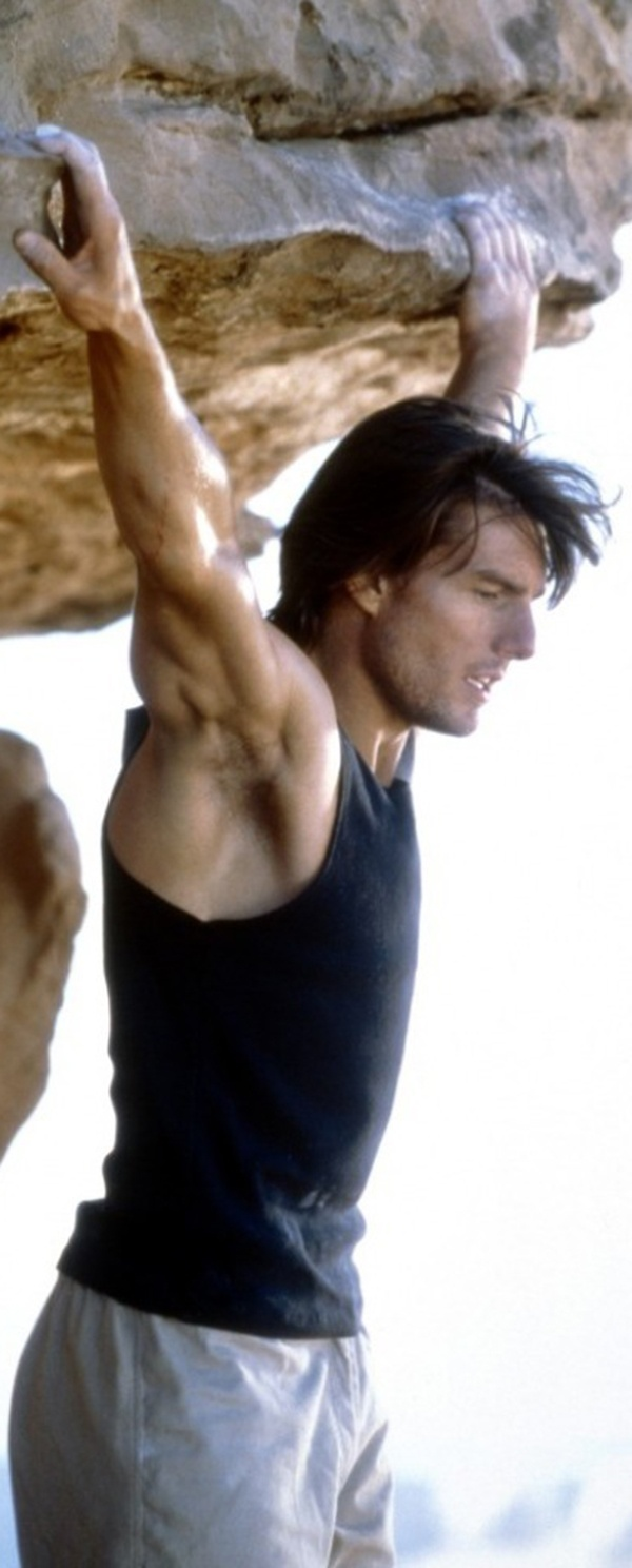 Tom Cruise does a lot of his own stunts.  I like that.