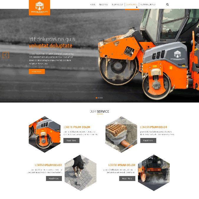 Make professional design for company that offers asphalt services by Signz Fiction