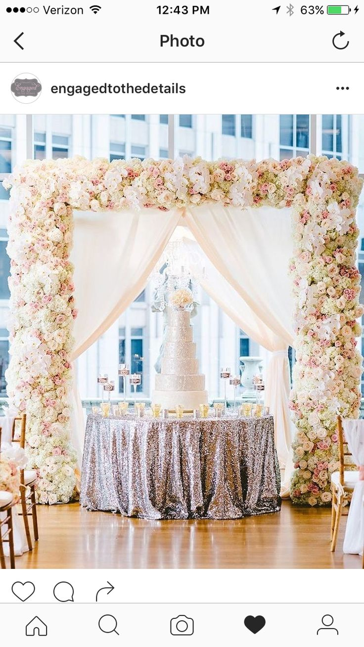 Blush and white and light pick flowers