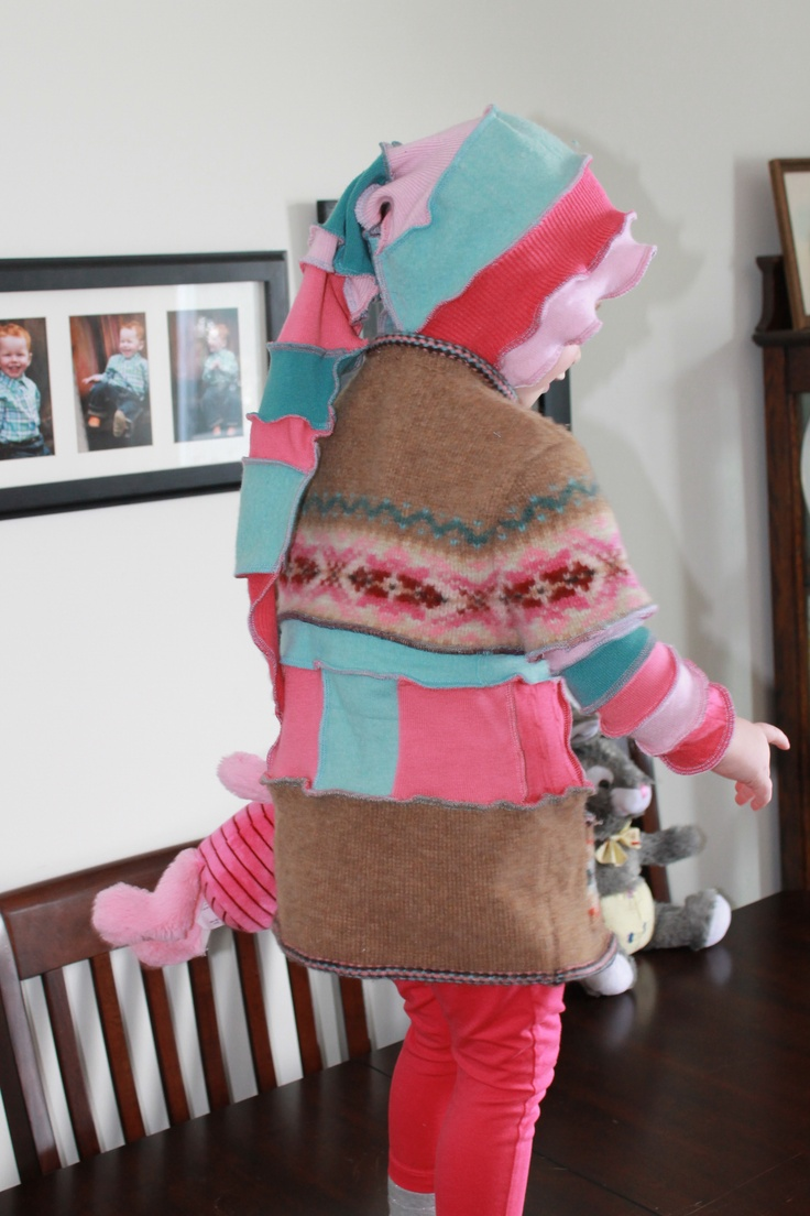 Pixi coat. My first try.   http://sherriesmuddlepuddle.blogspot.ca/2013/03/house-guests.html