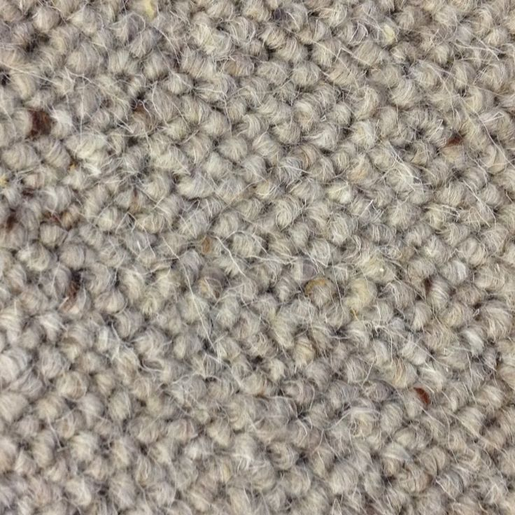 Allfloors Wensleydale Cloud 100% Wool Berber Grey Carpet
