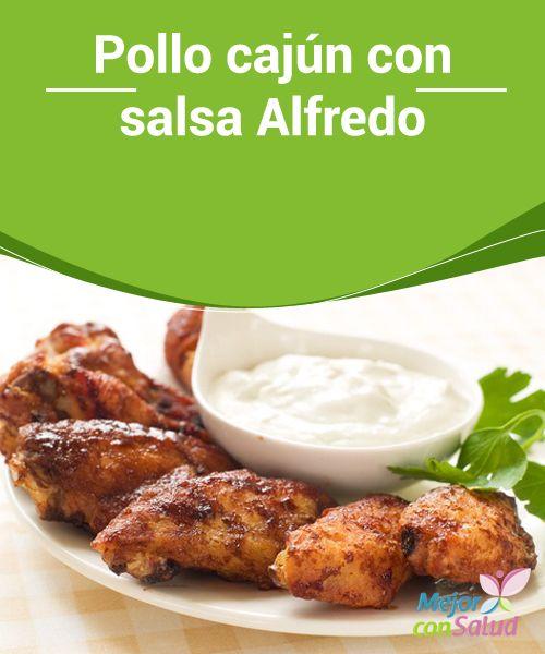 Pollo cajún con salsa Alfredo  Para que la receta tenga más sabor te recomendamos que muelas las especias en el momento. Así te asegurarás de no perder nada de su aroma original
