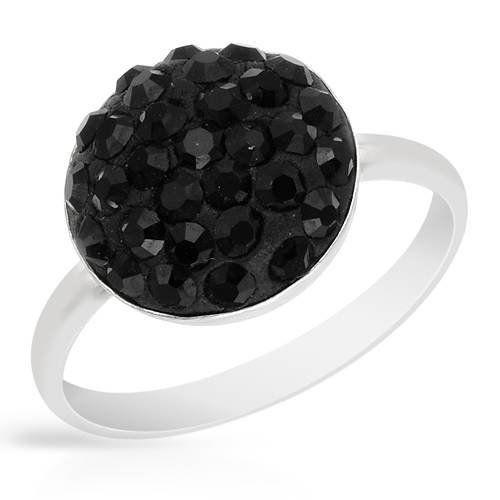 Sterling Silver Crystal Ladies Ring. Ring Size 9. Total Item weight 2.1 g. VividGemz. $19.00