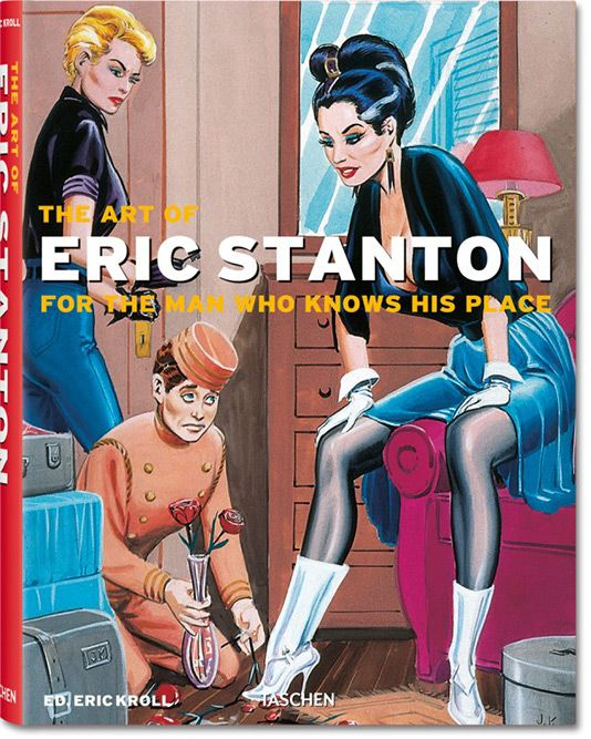 Eric Stanton gets the Taschen treatment with the release of his vibrant and edgy retrospective volume highlighting the evolution of his pulp works throughout his lifetime.