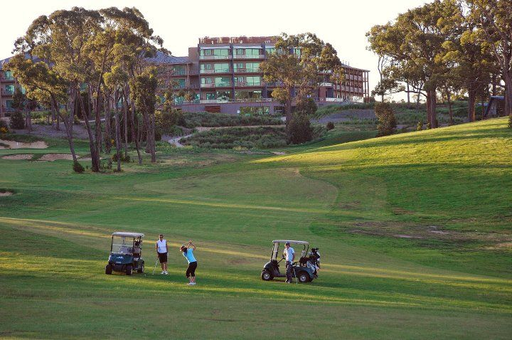 Golf Course at the Novotel Forest Resort
