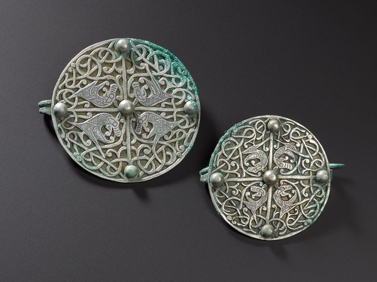 Anglo-Saxon brooches found with the Galloway Hoard.  We've been give the chance to save the Hoard for the nation. Donate now to secure the Hoard and unlock its secret: www.nms.ac.uk/hoard