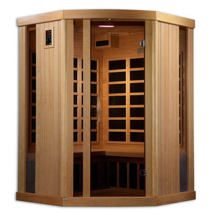 Near Zero EMF 3 Person 11 Carbon IR Sauna