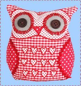 gingham owl