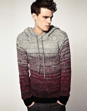 It should be illegal how obsessed I am with this sweater. The ombre, the knit and military aura to it... bah-humbug!: