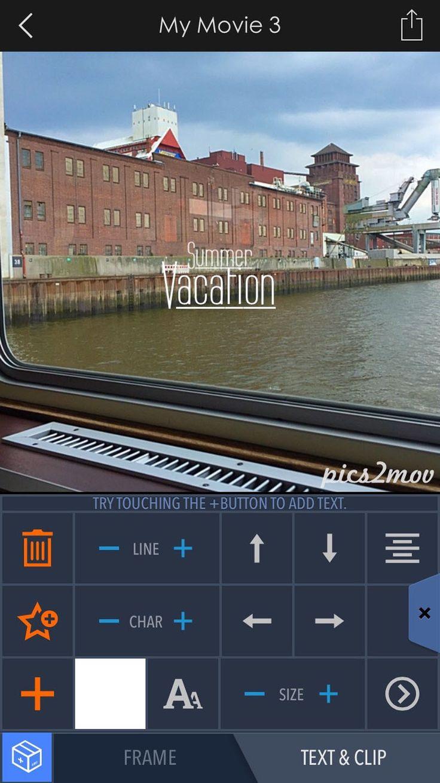 Screenshot Pics2Mov