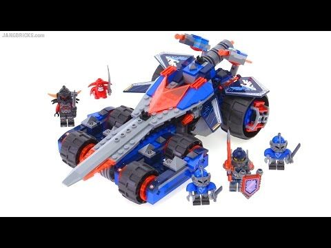 LEGO Nexo Knights Clay's Rumble Blade review! set 70315 - YouTube