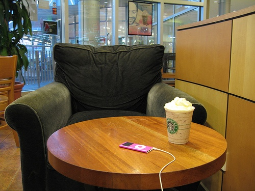 Starbucks Sofa