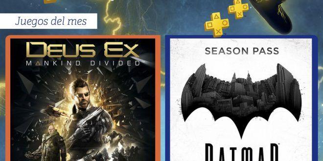 Este mes en PlayStation Plus – Enero 2018 nuevos juegos gratis