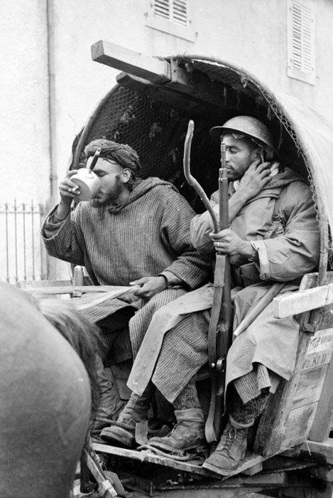 Le 2e Corps d'armée sur le front des Vosges - tirailleurs marocains, pin by Paolo Marzioli