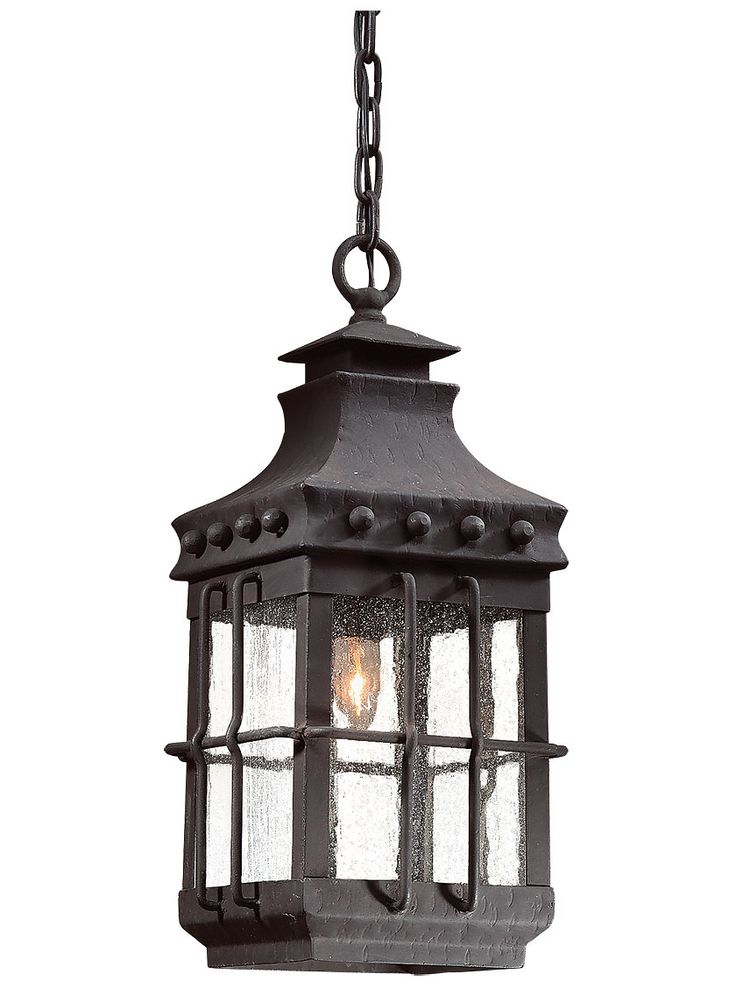 Dover Exterior Hanging Light In Natural Bronze | House Of Antique Hardware