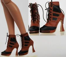 """Sherry Boots Shoes for 22"""" Tonner American Model and New 1/4 BJD Doll (3-AB-13"""