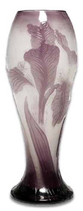 Vase by Émile Gallé