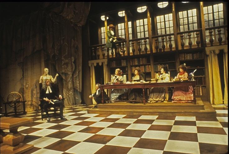 Les Femmes savantes    By: Molière  Venue: NAC Studio  Year: 1979  Designer: Robert Prévost