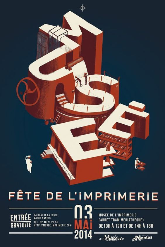 Fete de l'imprimerie Nantes by Axel Bizon: