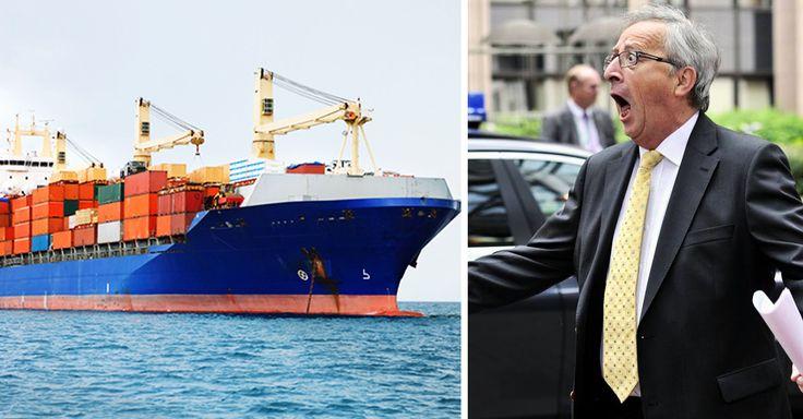 Pas moins de 60 000 navires voguent sur les flots de notre Terre pour répondre aux besoins des 7 milliards d'êtres humains... http://lareleveetlapeste.fr/face-cachee-20-cargos-polluent-plus-que-la-totalite-des-voitures-dans-le-monde/