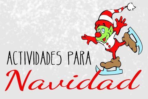 Actividades de navidad para niños  #navidad #vacaciones #christmas #fichas #niñod