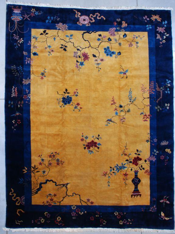 Mandarin Art Deco Chinese Oriental Rug   JOZAN