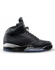 Authentic 599581-003 Air Jordan 5 Retro 3Lab5 Black/Black-Metallic Silver $149.00 http://www.theblackkicks.com