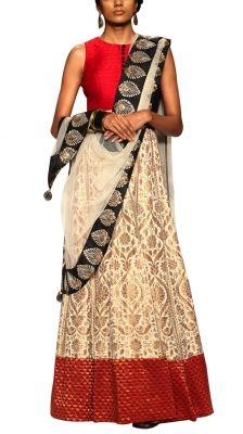Jahan Lehenga   Strandofsilk.com - Indian Designers
