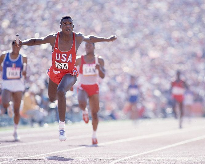 Carl Lewis / Summer Olympics 1984