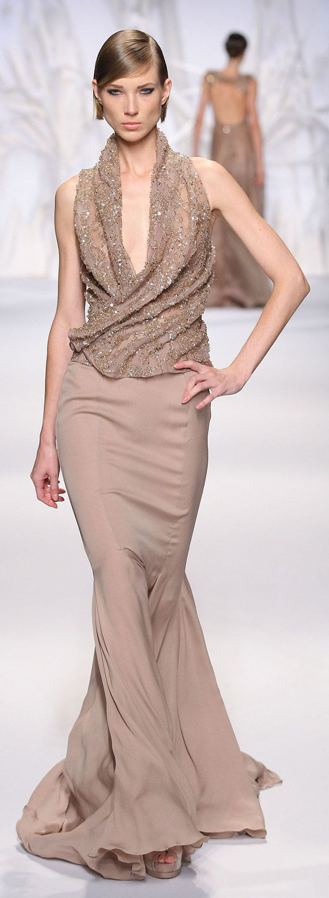 Abed Mahfouz Haute Couture Fall-Winter 2013-2014                              …