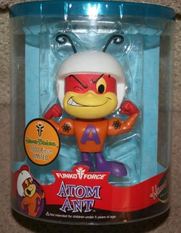 Atom Ant Funko Force Vinyl Action MINTY LE Hard to Find Saturday Cartoons New  | eBay
