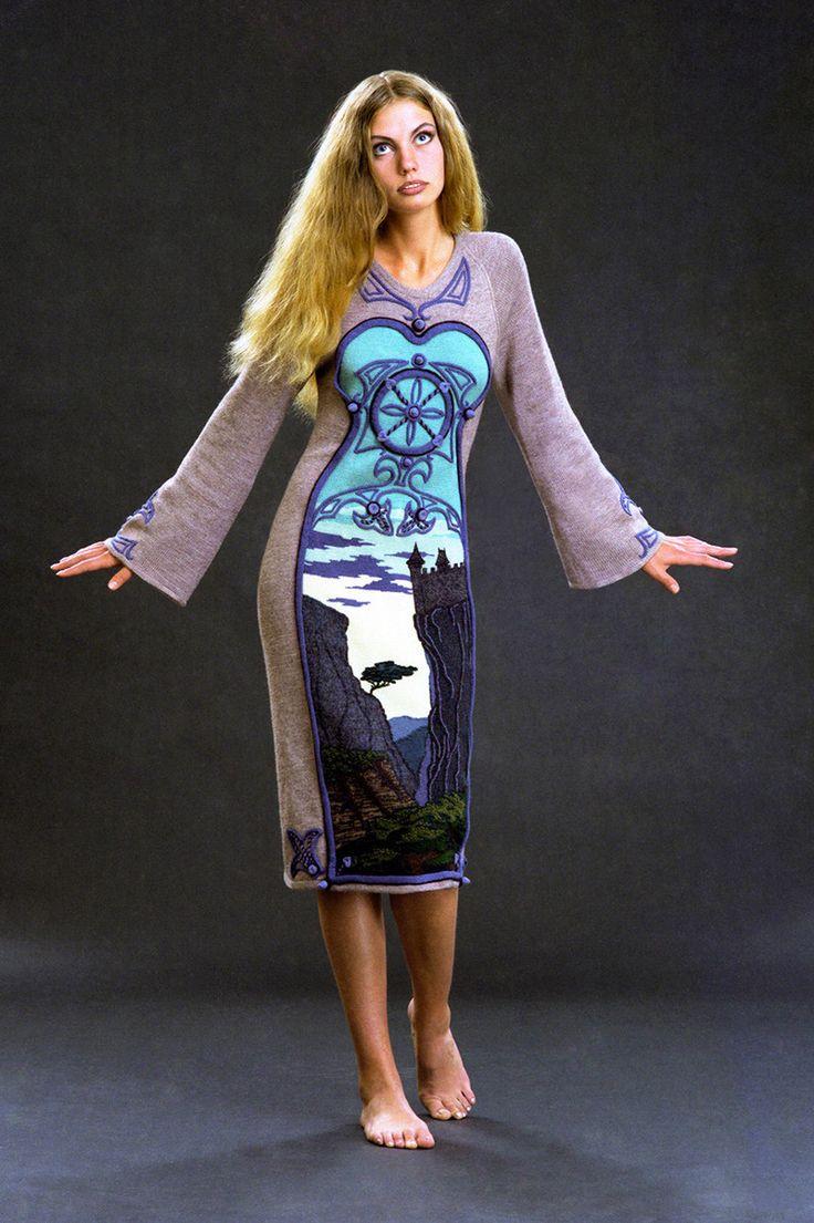 """Alexander Seraphim's knitwear, """"Gothic #7"""", 1998"""