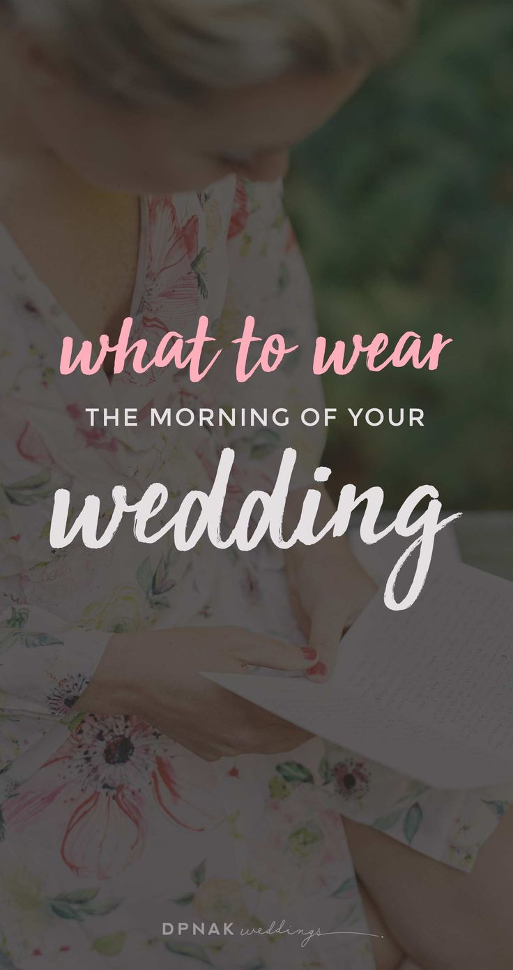 average price for wedding dj in new jersey%0A What To Wear  The Morning Of Your Wedding