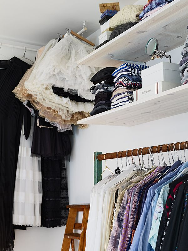 beautiful storage for clothes