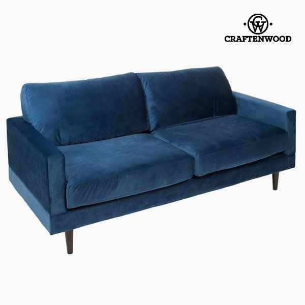 Stor 2-sits soffa blå cos by Craftenwood