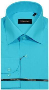 Мужская бирюзовая рубашка интернет магазин