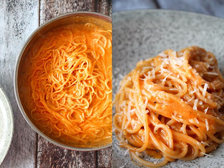 Super delicious and easy pasta dish, which is made in just one pot!