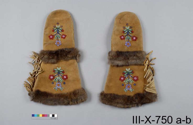 James Bay Cree mittens, Canadian Museum of Civilization.