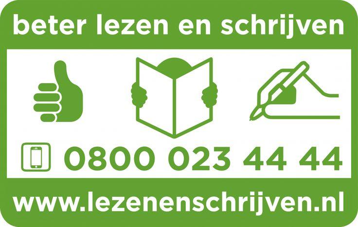 Kent u iemand die moeite heeft met lezen en schrijven? Of wilt u anderen helpen met taal? Bel dan het bovenstaande nummer!
