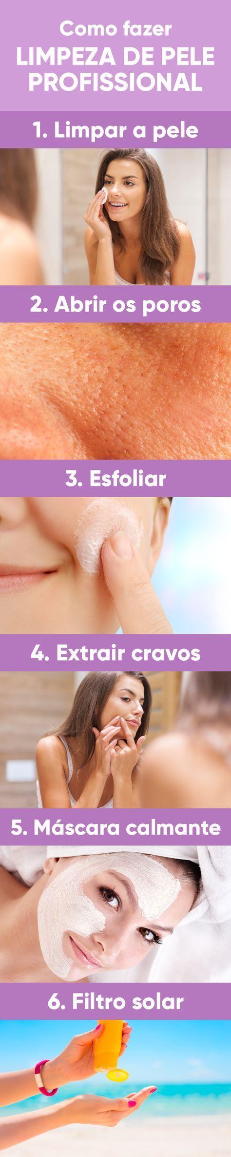 A limpeza de pele profunda serve para remover cravos, impurezas, células mortas e milium da pele, que se caracteriza pelo aparecimento de pequenas bolinhas brancas ou amareladas na pele, principalmente, do rosto. Ela deve ser feita de 2 em 2 meses, no caso de peles normais a secas, e 1 vez por mês em peles mistas a oleosas e com cravos.