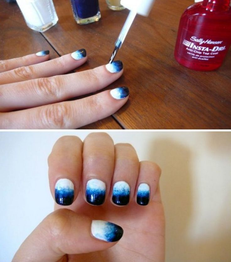 how to make manicure at home in hindi
