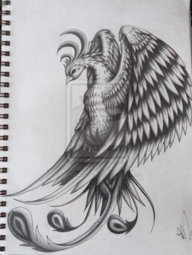 Beautiful Phoenix tattoo idea                                                                                                                                                                                 More